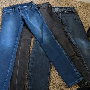 Set of 3 Jean Leggings from Express